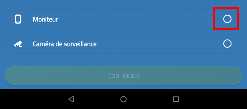 ARCHOS FAQ - How to configure the video surveillance app Cawice?