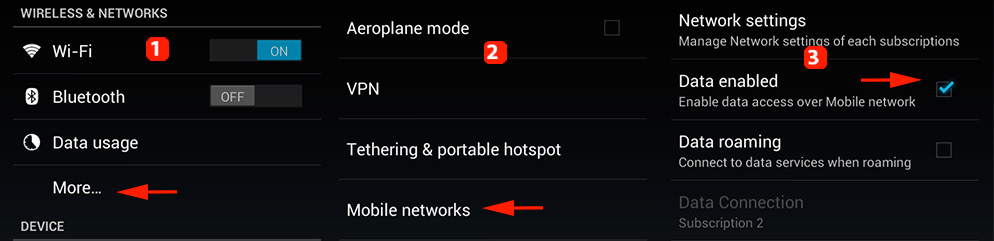 ARCHOS FAQ - How do I configure my 3G/4G connection?