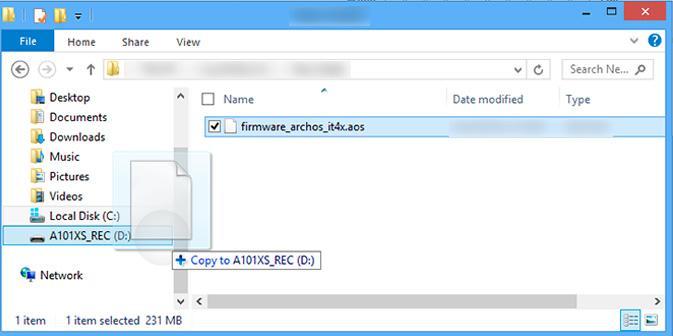 ARCHOS FAQ - How to reinitialize my ARCHOS 101 XS ?