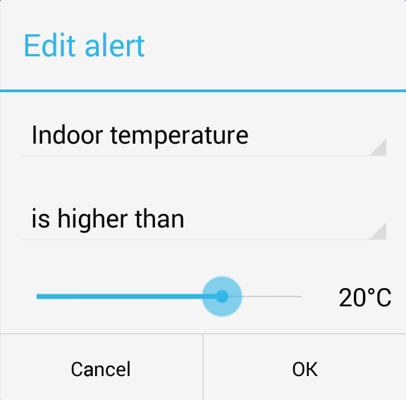 Indoor temperature